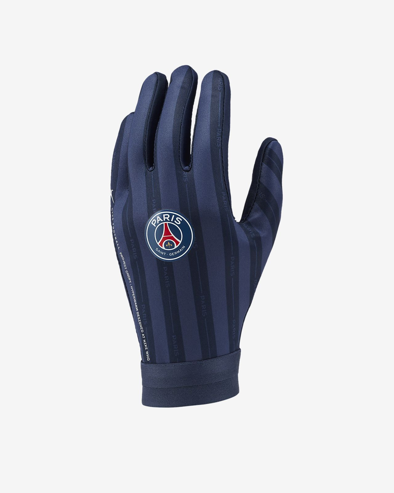 péndulo empleo Hacia atrás  Guantes de fútbol Paris Saint-Germain HyperWarm Academy. Nike CL