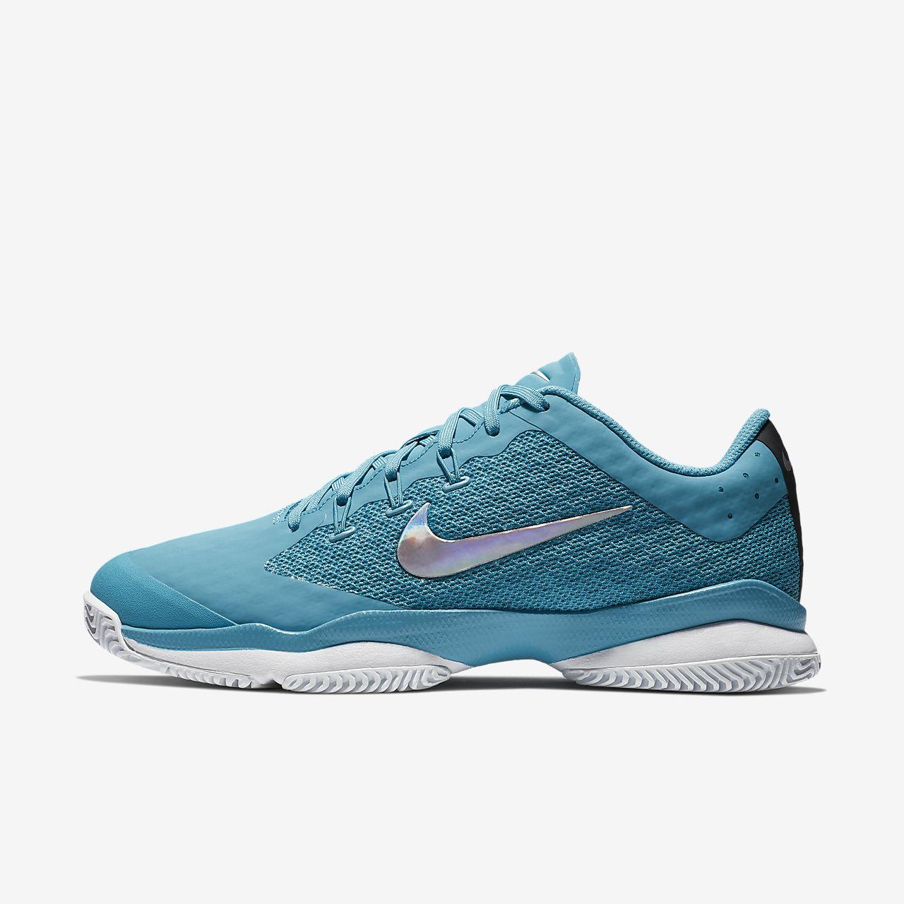 Nike Performance AIR ZOOM ULTRA - Outdoor tennis shoes - atmosphere grey/black white/blue/vast grey iPtKcpU7YO