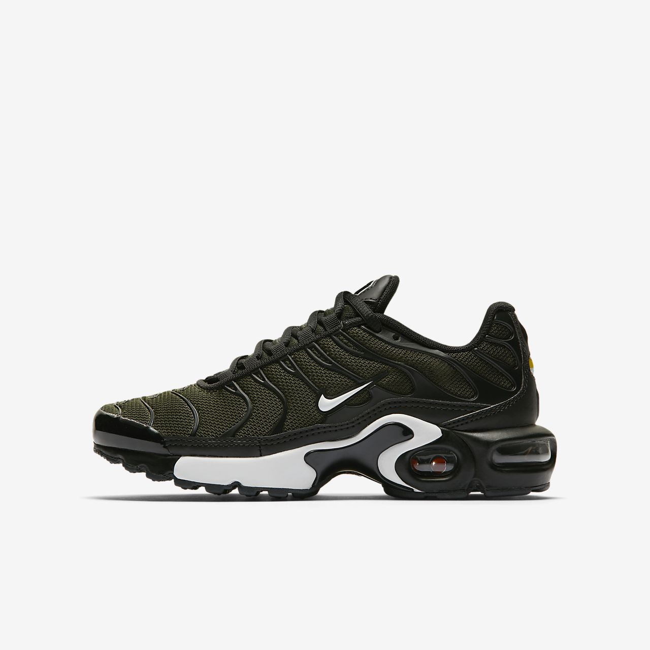 nike air max plus grønn camo