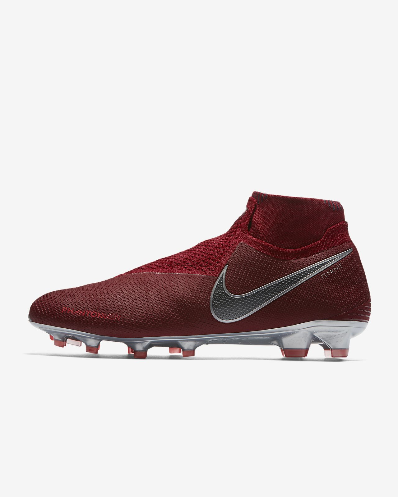 e8cd02794 ... Chaussure de football à crampons pour terrain sec Nike PhantomVSN Vision  Elite Dynamic Fit Game Over