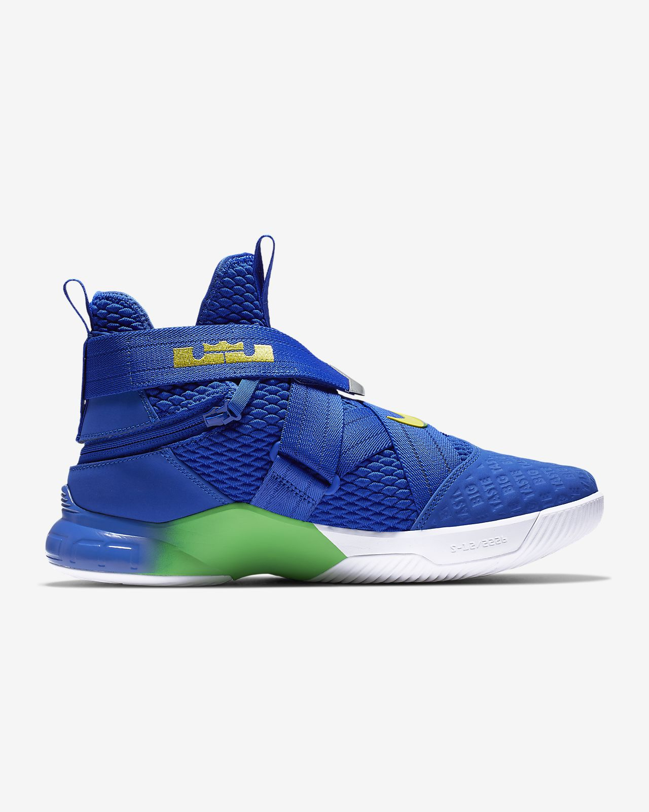 hot sale online 6139c a8d2e LeBron Soldier 12 FlyEase Men's Basketball Shoe