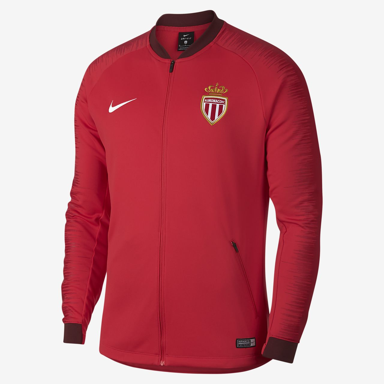 AS Monaco FC Anthem Men s Football Jacket. Nike.com ZA 5ef4ebfe3