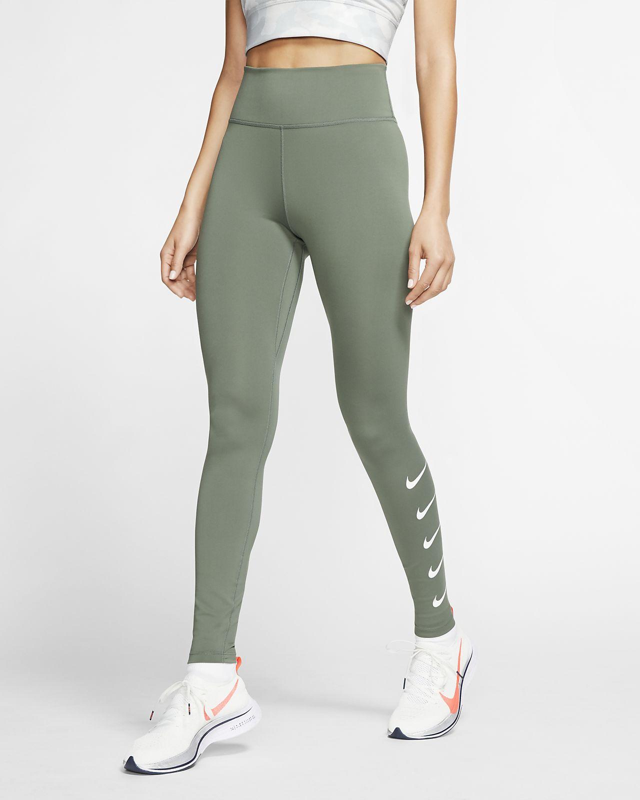 Женские беговые тайтсы Nike Swoosh