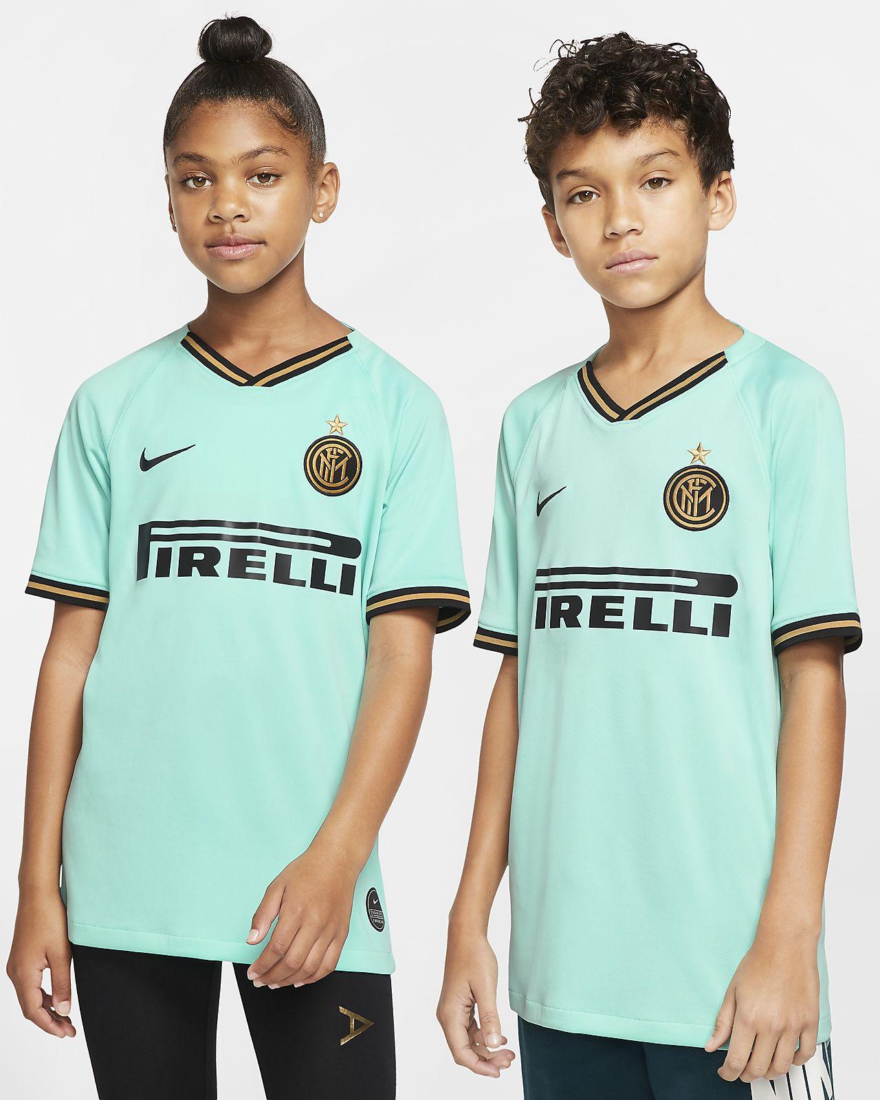 Camiseta de fútbol de visitante para niños talla grande Stadium del Inter de Milán 2019/20