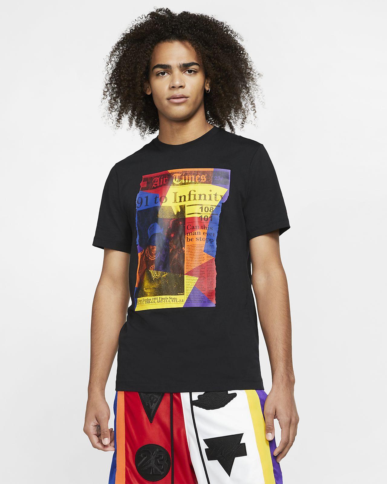 T-shirt męski Jordan Rivals