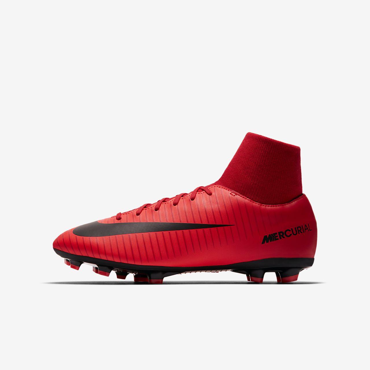 Chaussure de football à crampons pour terrain sec Nike Jr. Mercurial Victory VI Dynamic Fit pour Jeune enfant/Enfant plus âgé