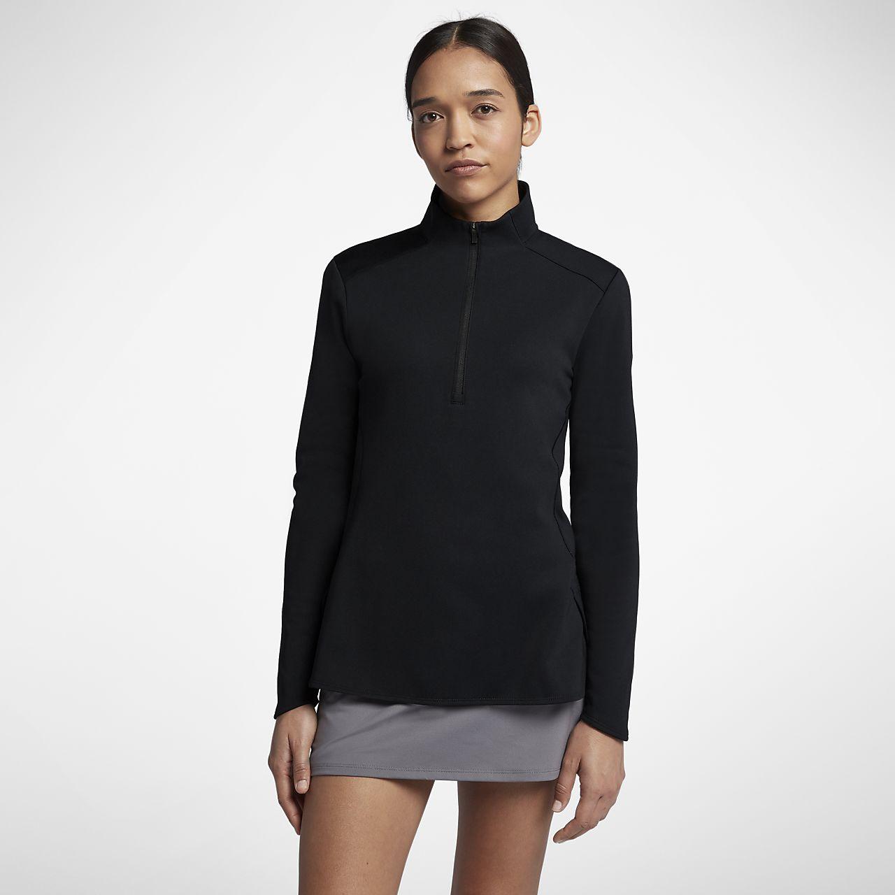 Maglia da golf a manica lunga Nike Dri FIT Donna