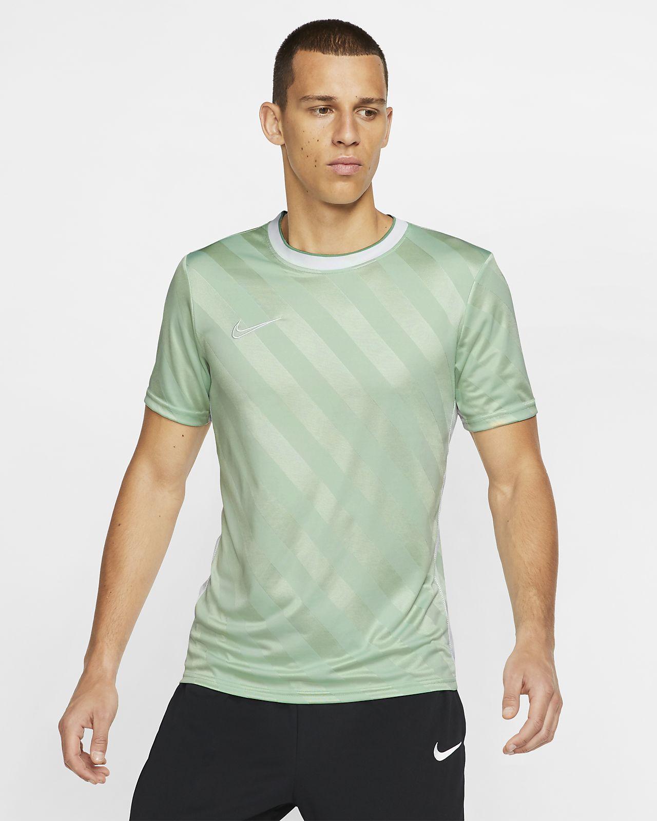 Prenda superior de fútbol de manga corta para hombre Nike Breathe Academy
