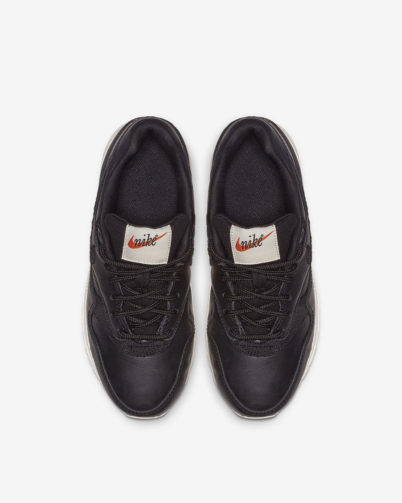 Calzado para niños talla grande Nike Air Max 1 Premium Embroidered ... ba86b9eac502