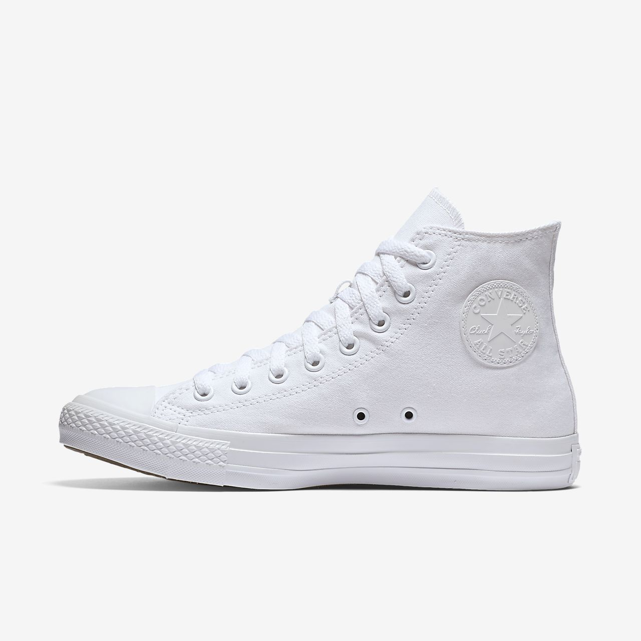 Converse Chuck Taylor Monochrome High Top Unisex Shoe ...