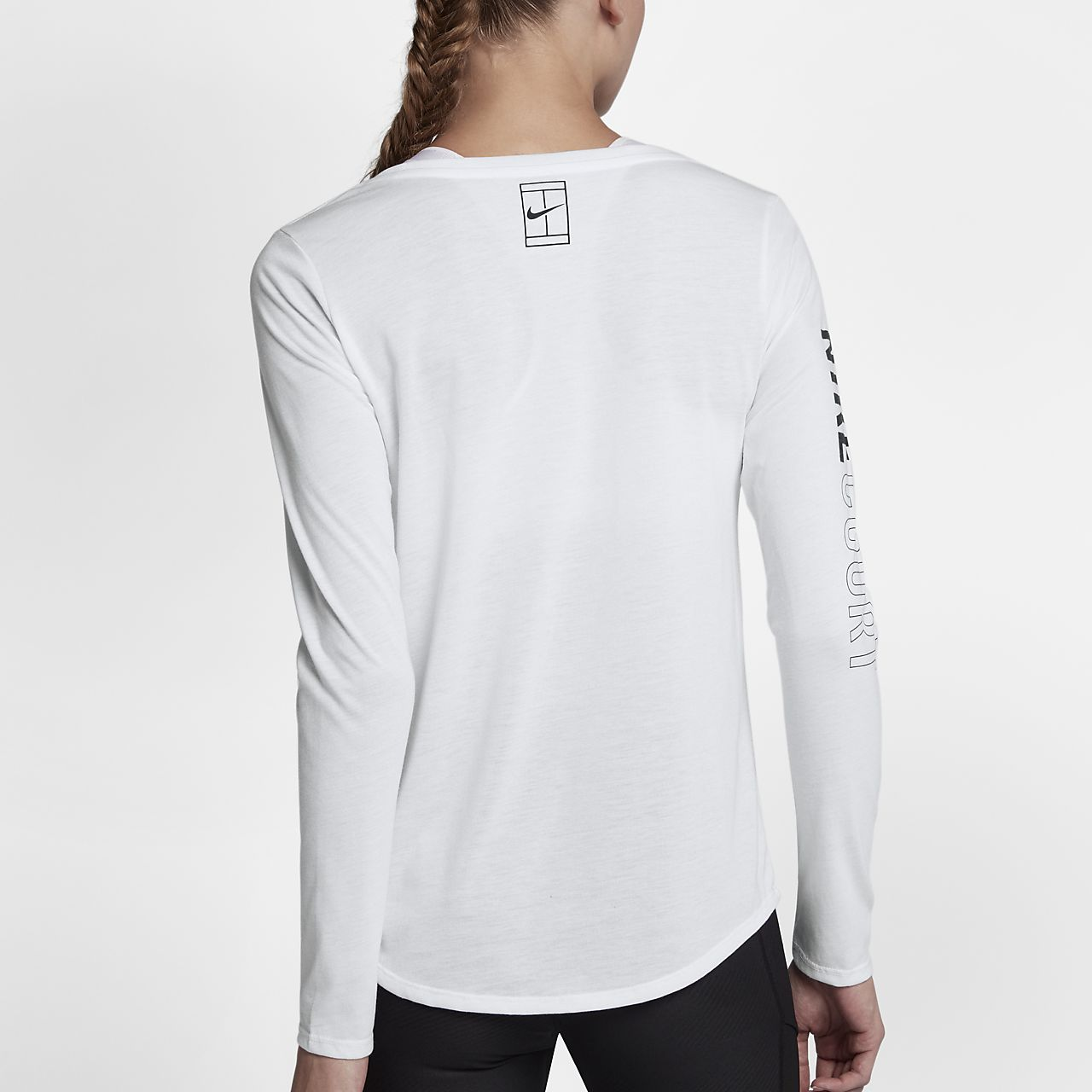 nike damen tennis shirt