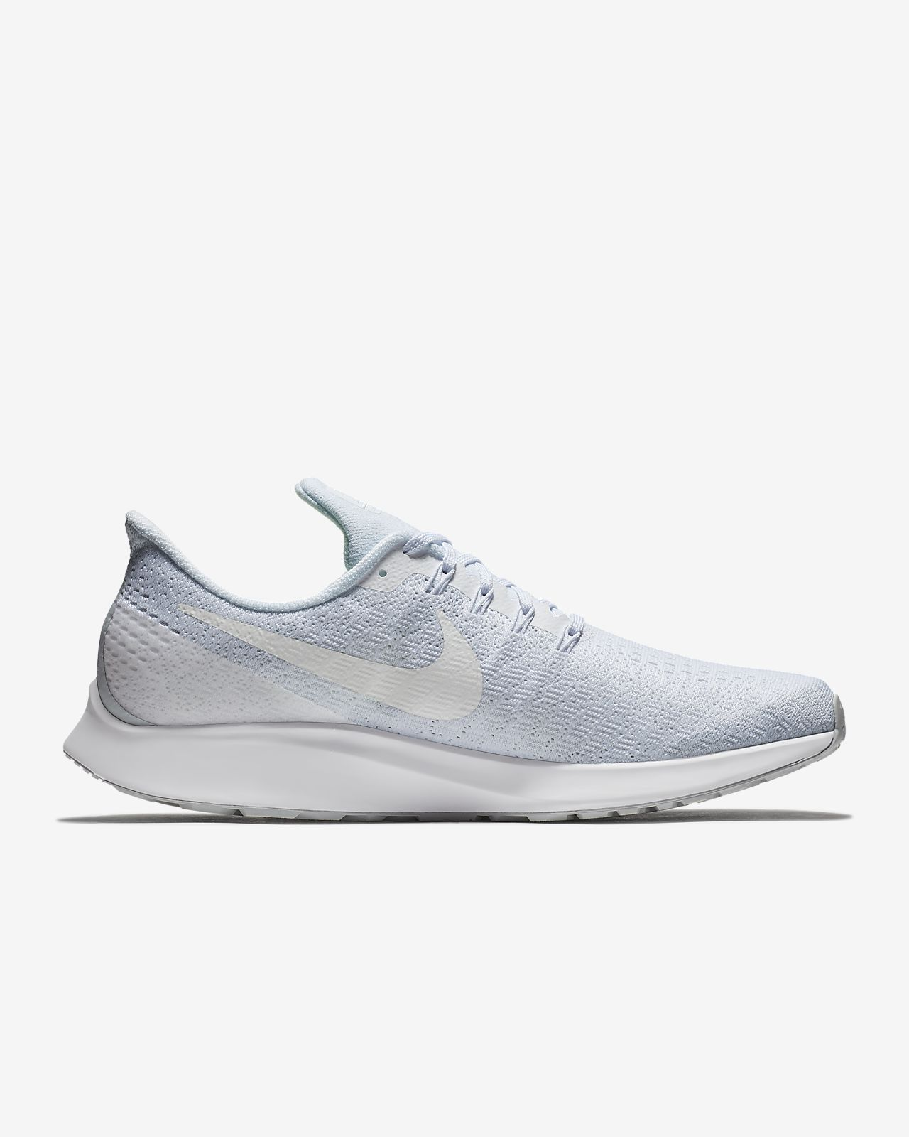 Nike Performance AIR ZOOM PEGASUS 35 - Neutral running shoes - black/oil grey/white pWP2CfDw