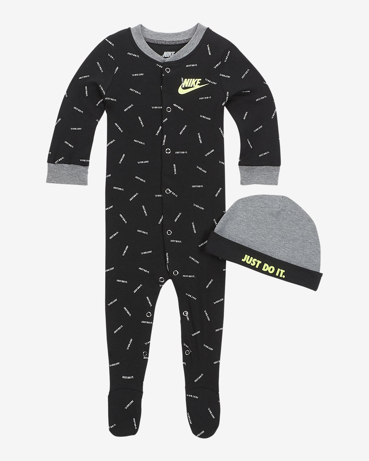 Nike Baby Coverall & Hat 2-Piece Set