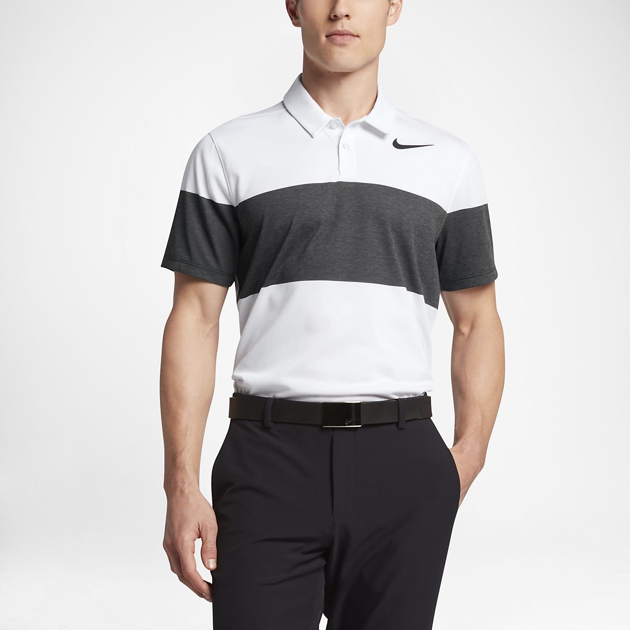 ... Nike Dry Transition Men's Slim Fit Golf Polo