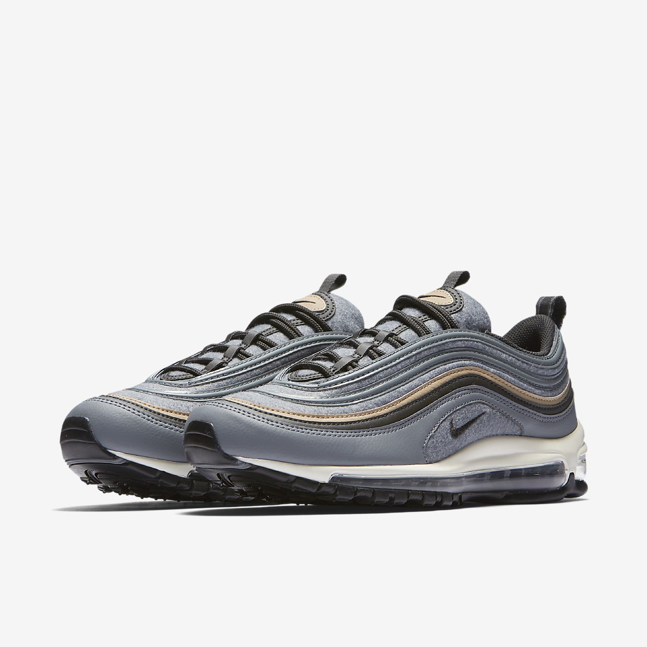 Nike Air Max 97 Premium Menu0027s Shoe. Nike