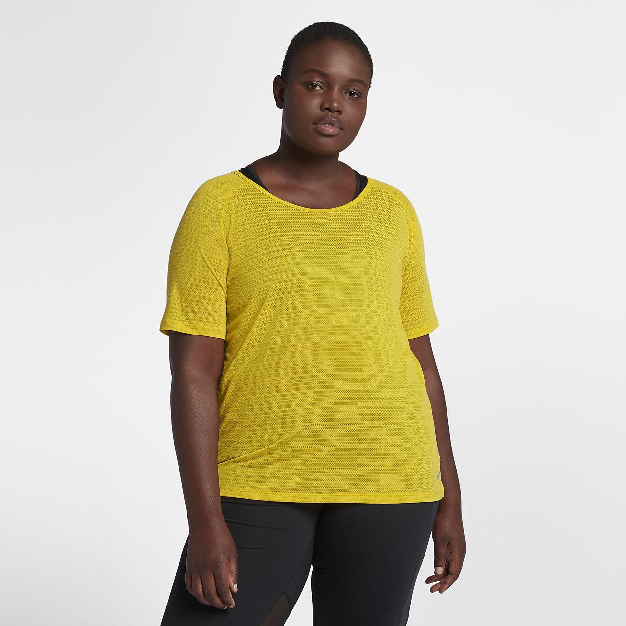 4c770d3363d Nike Miler (Plus Size) Women s Short-Sleeve Running Top. Nike.com NZ
