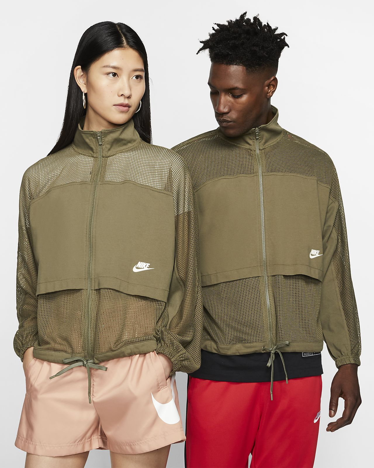 Nike Sportswear Mesh 女子夹克