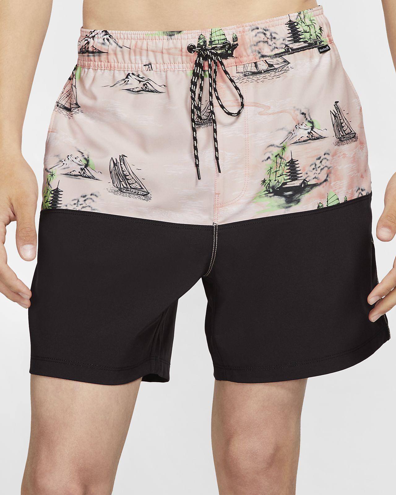 Shorts de playa de 43 cm para hombre Hurley Eastern Seas
