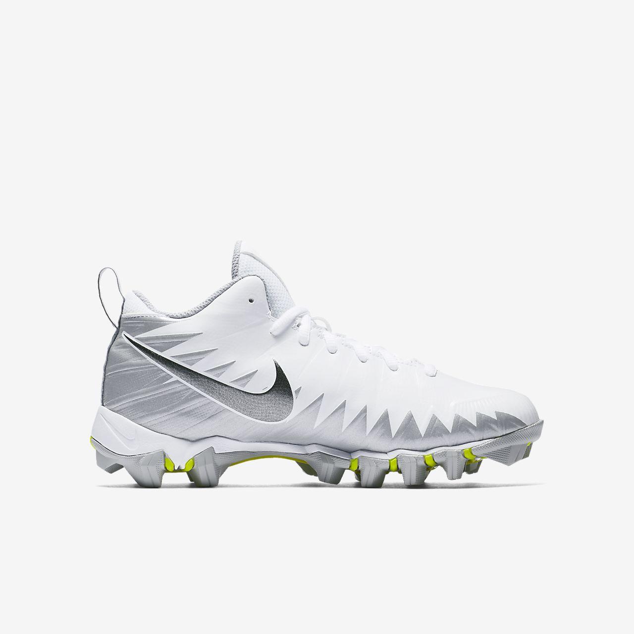 ad2e98521553 Nike Alpha Menace Shark Little/Big Kids' Football Cleat. Nike.com