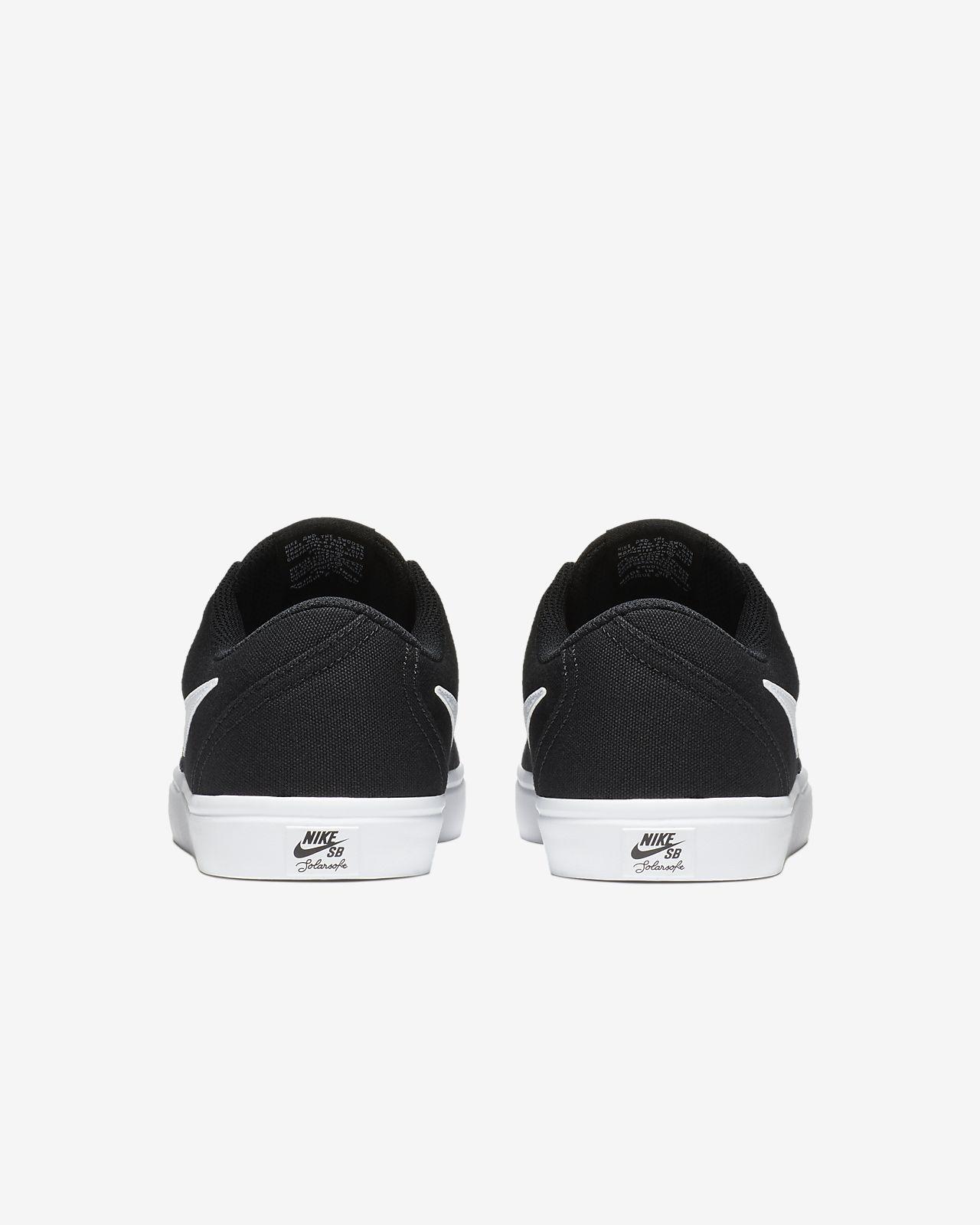 Nike SB Check Solarsoft Canvas Skateschoen voor dames