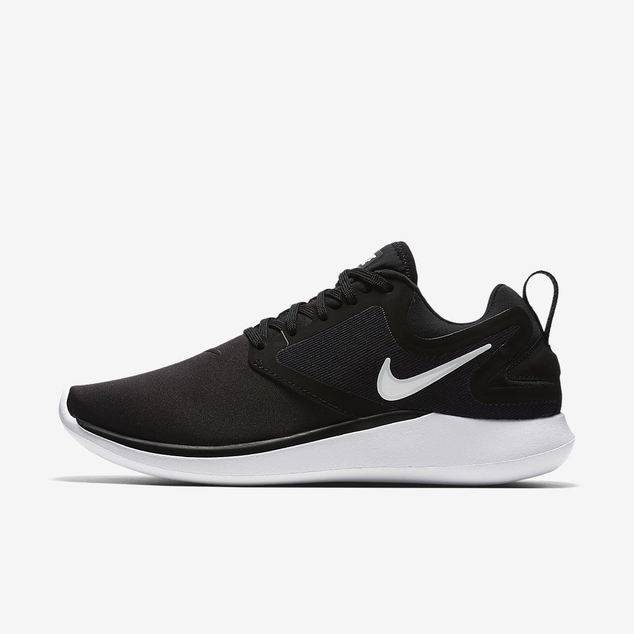 Nike WMNS Lunarsolo, Chaussures de Running Femme, Noir (Black/White/Anthracite 001), 36.5 EU