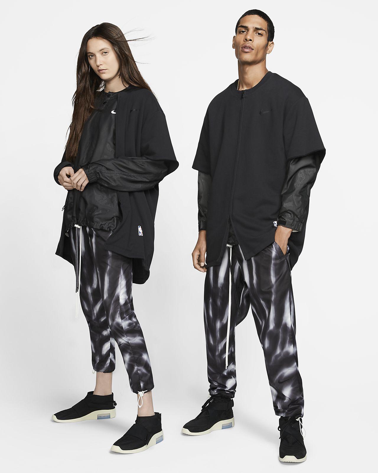 Kalhoty Nike x Fear of God s celoplošným potiskem