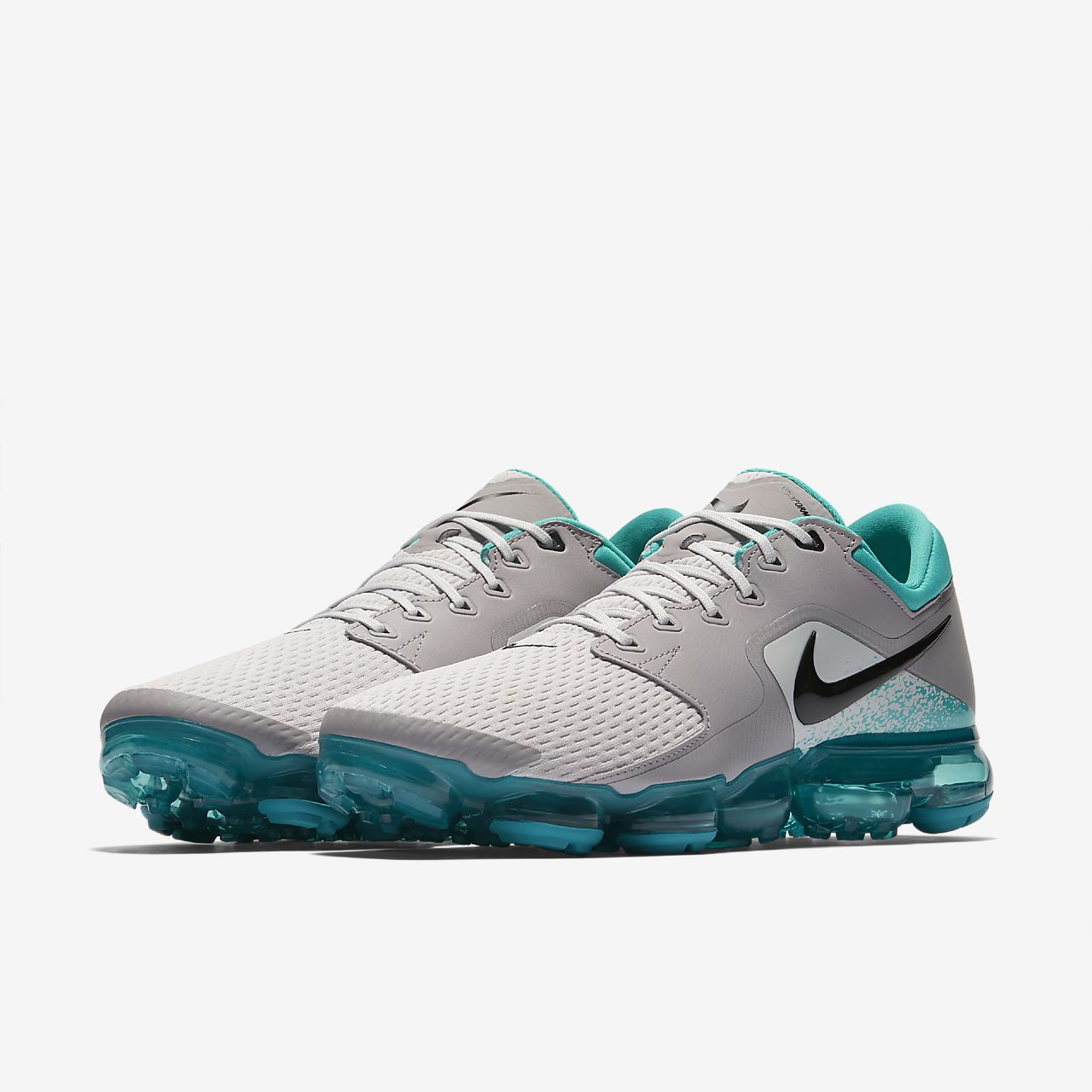 Nike Air Vapormax Vast Grey Black Men Running Shoes Sneaker AH9046010