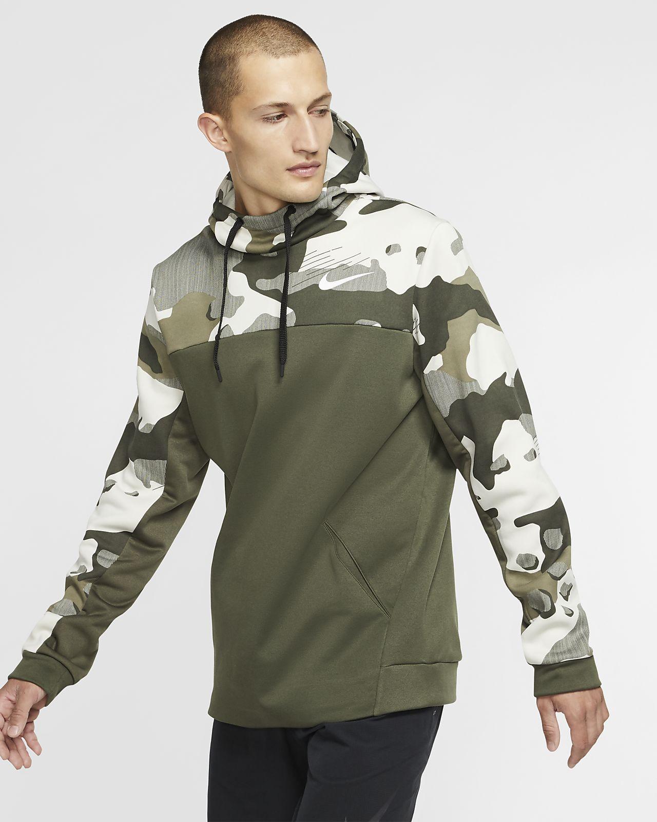Felpa da training pullover con cappuccio Nike Therma - Uomo