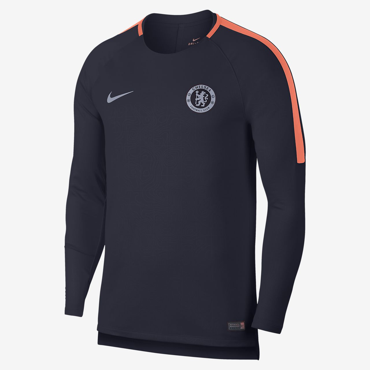 newest 1ca28 8515c Chelsea FC Dri-FIT Squad Men's Long-Sleeve Football Top