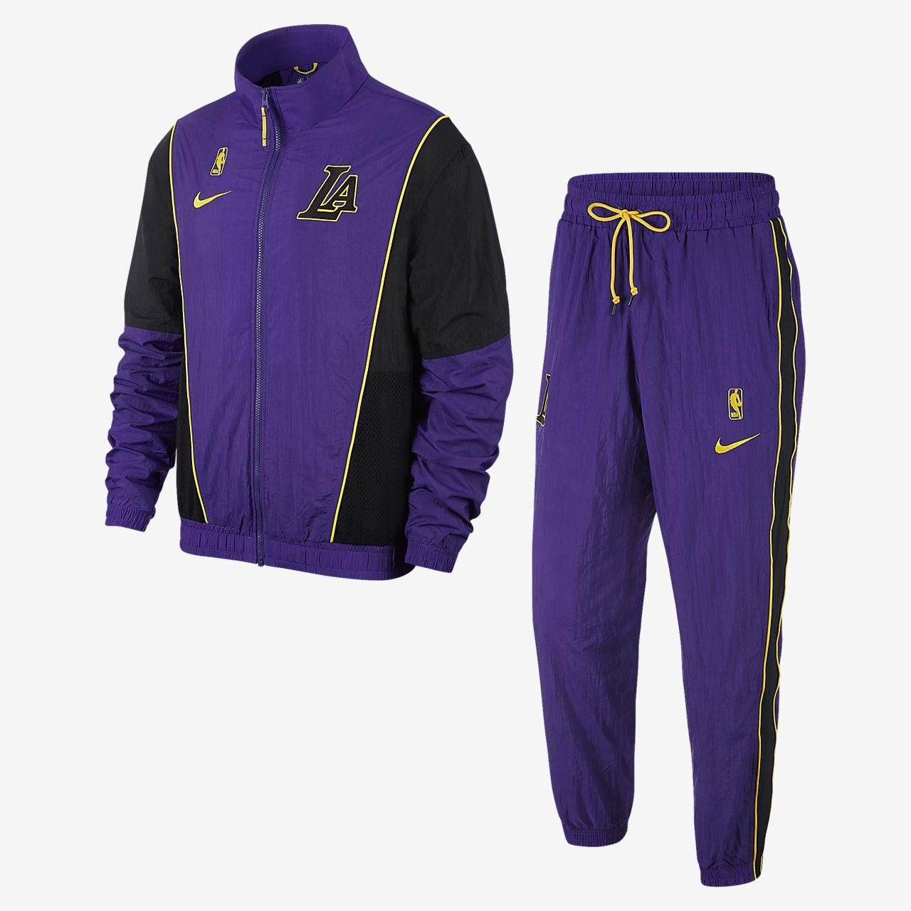 洛杉矶湖人队 Nike 男子 NBA 运动套装