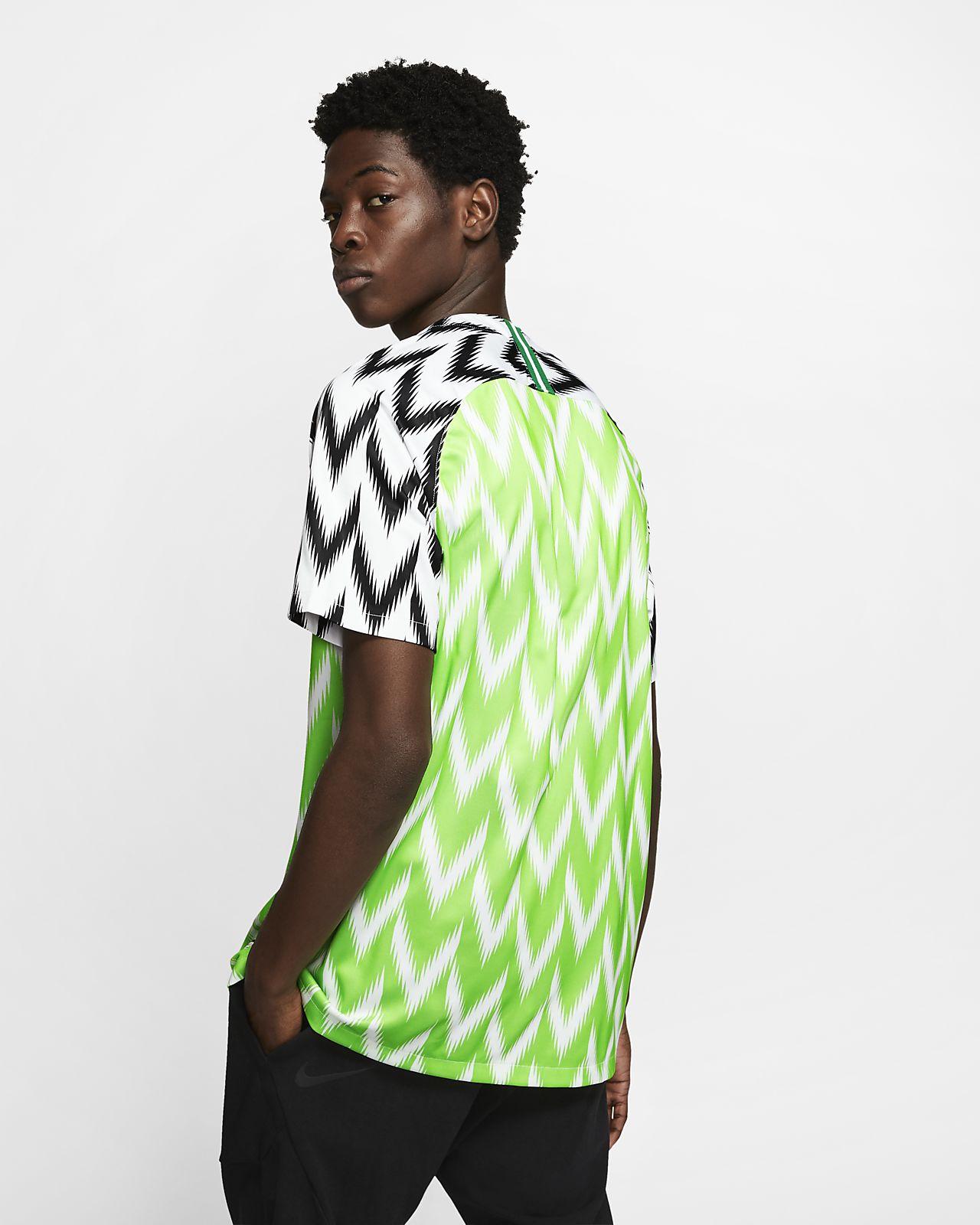 9b6526681e6 Nigeria 2019 Stadium Home Soccer Jersey. Nike.com