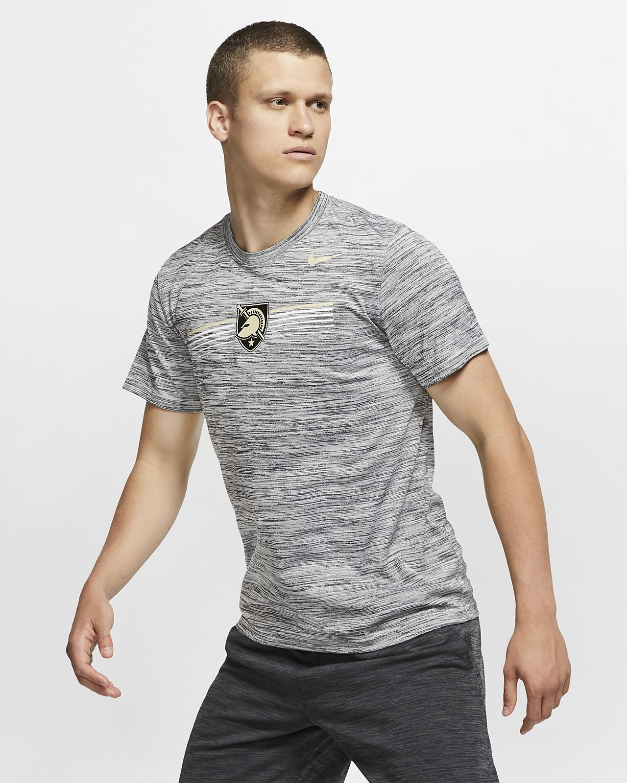 Nike College Dri-FIT Legend Velocity (Army) Men's T-Shirt