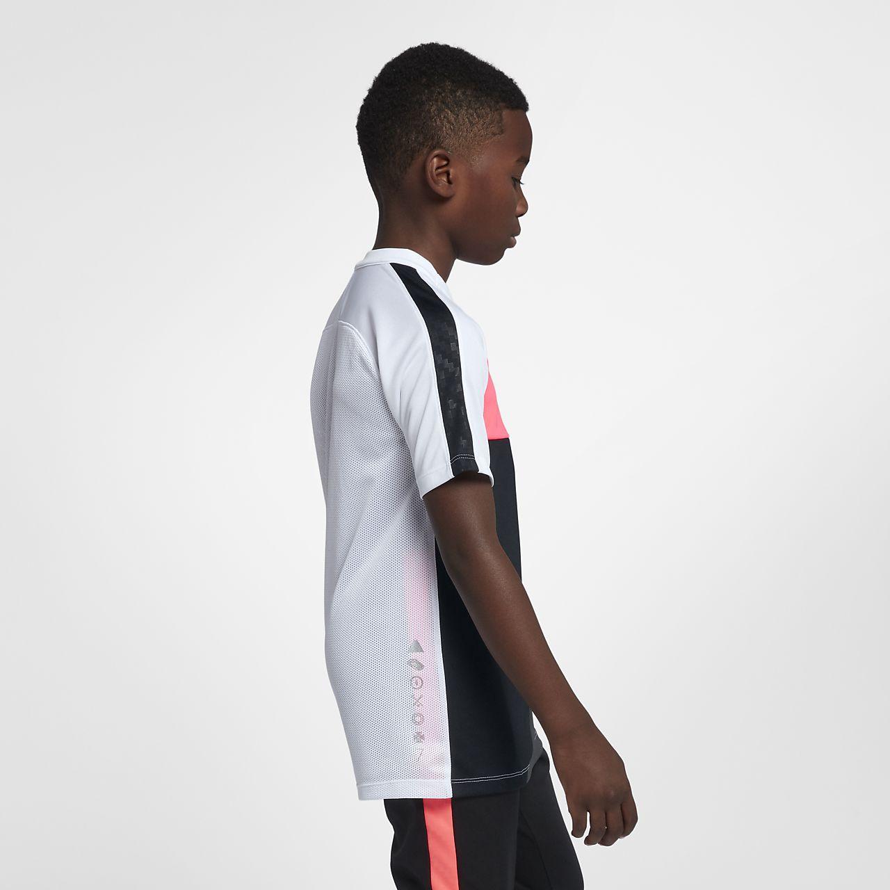 97129168e Nike Dri-FIT CR7 Older Kids' (Boys') Short-Sleeve Football Top. Nike ...