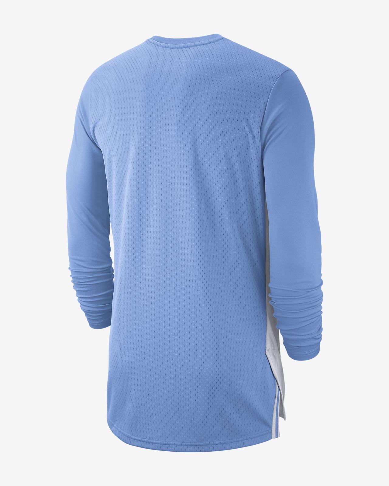 a1be4ea7612b Jordan College Dri-FIT (UNC) Men s Long-Sleeve Basketball Top. Nike.com