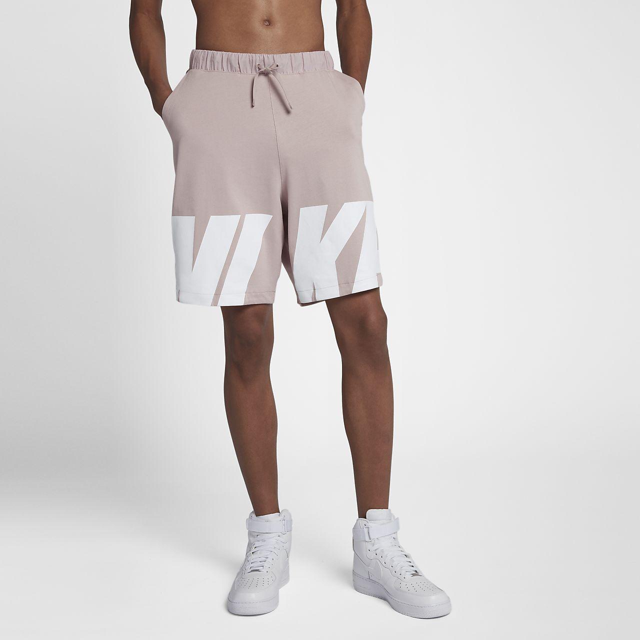 0fed32477d Ropa Nike para hombre Pantalones cortos Nike GPX Strike Print Longer Woven  Ropa de deporte Negro Blanco