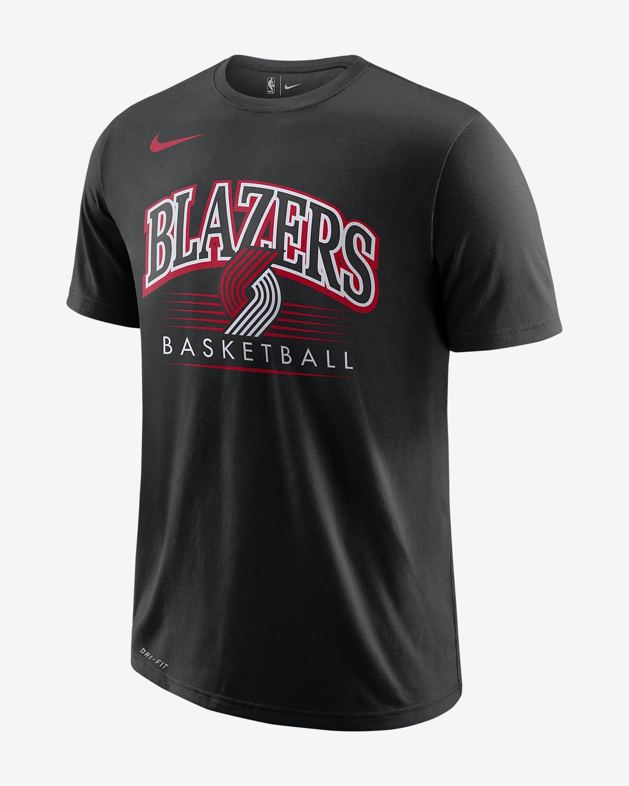 c0326d09839 Portland Trail Blazers Nike Dri-FIT Men s NBA T-Shirt. Nike.com