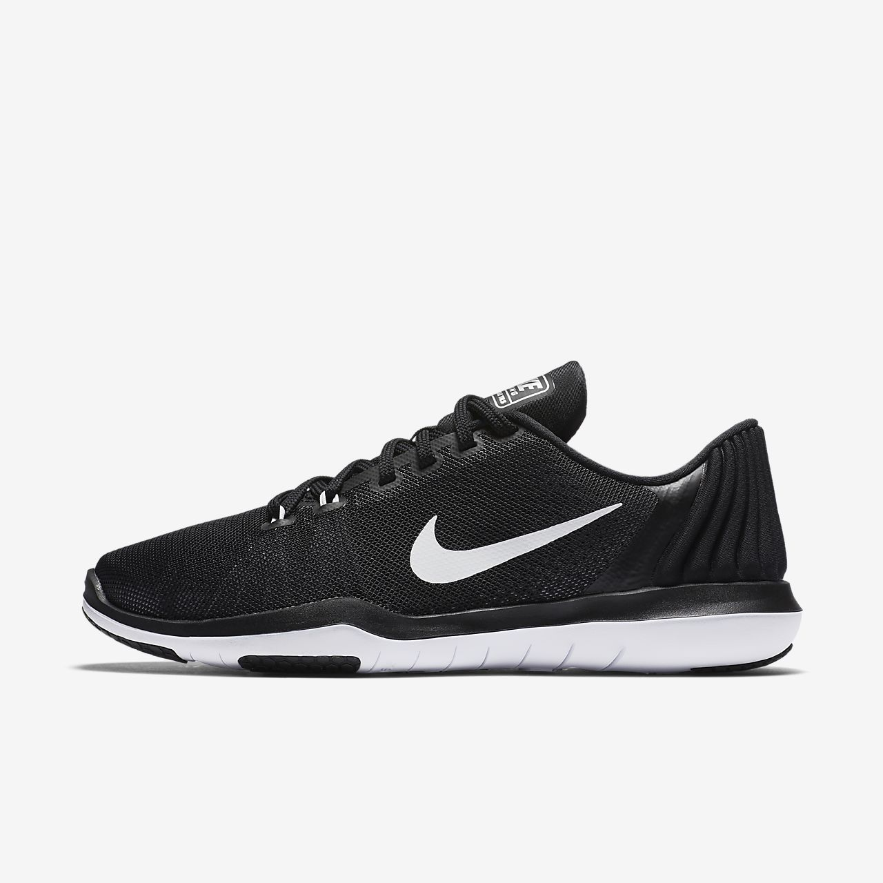 nike free tr 4 black and white hollow
