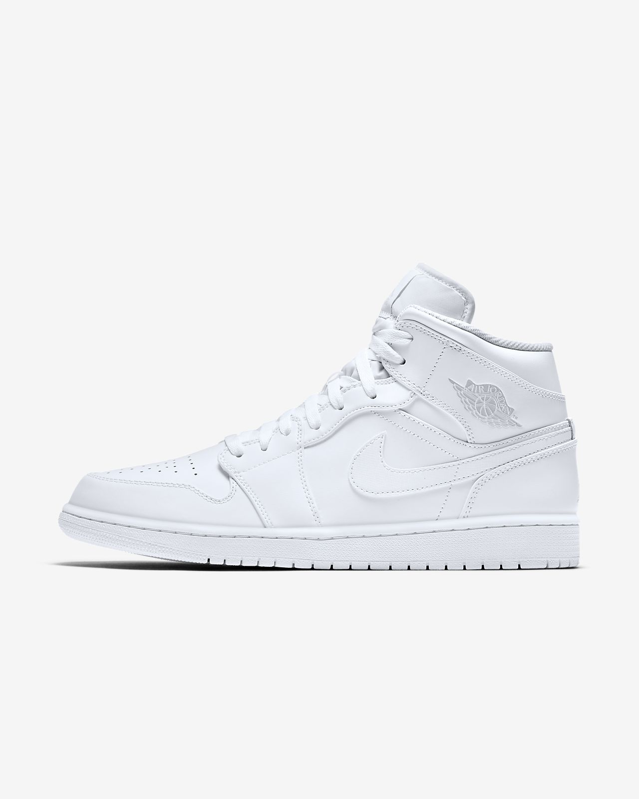 nike air jordan 1 mid white nz