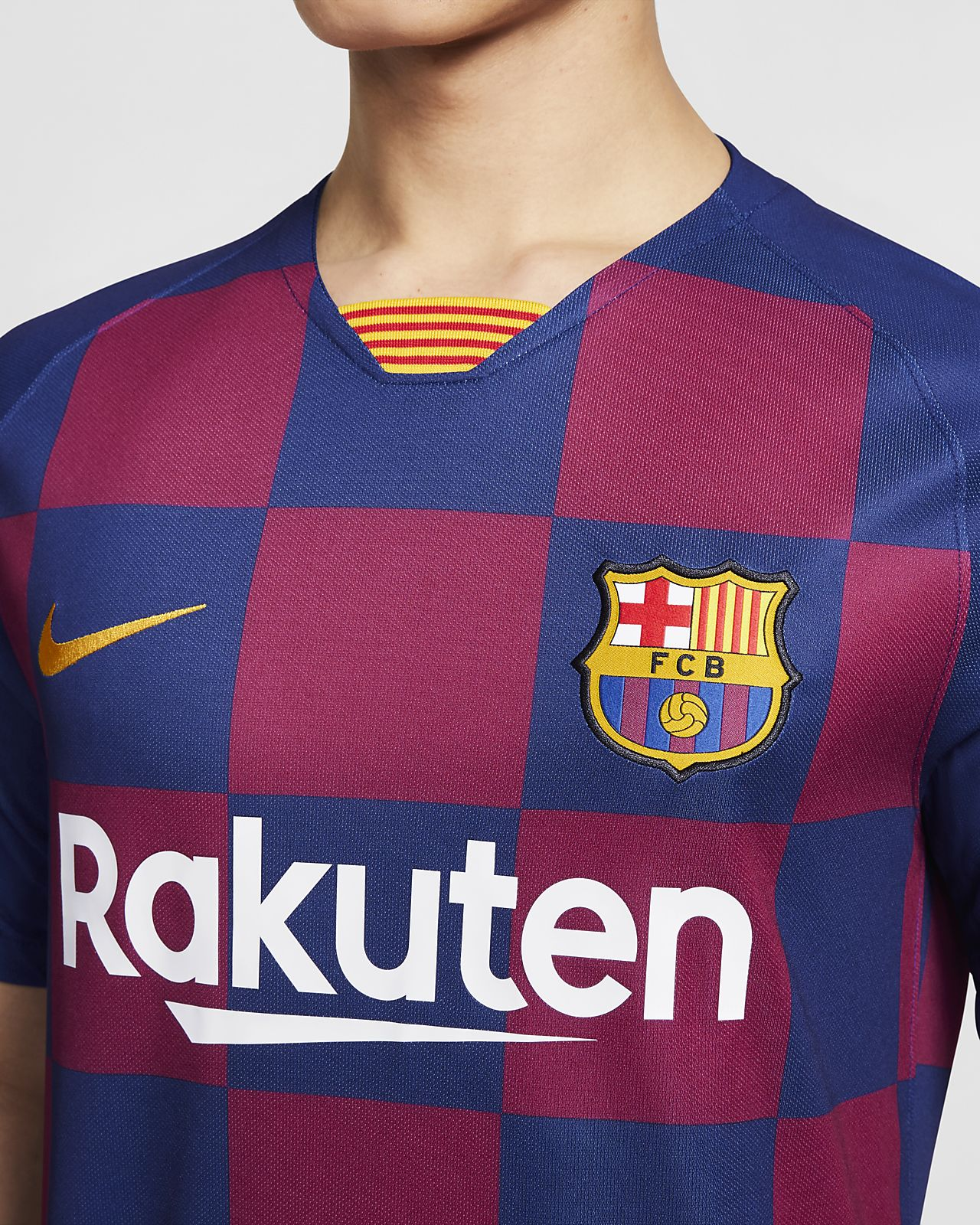 reputable site 832f3 a21d4 FC Barcelona 2019/20 Stadium Home Soccer Jersey