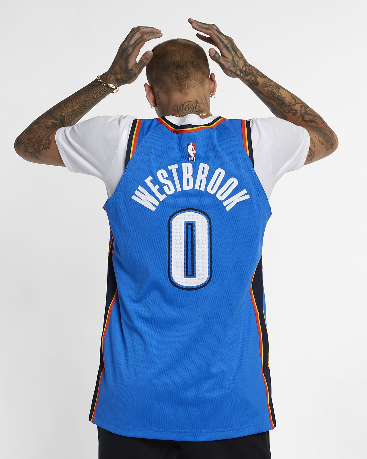 5d6693c104a7 ... Russell Westbrook Icon Edition Authentic (Oklahoma City Thunder) Men s  Nike NBA Connected Jersey
