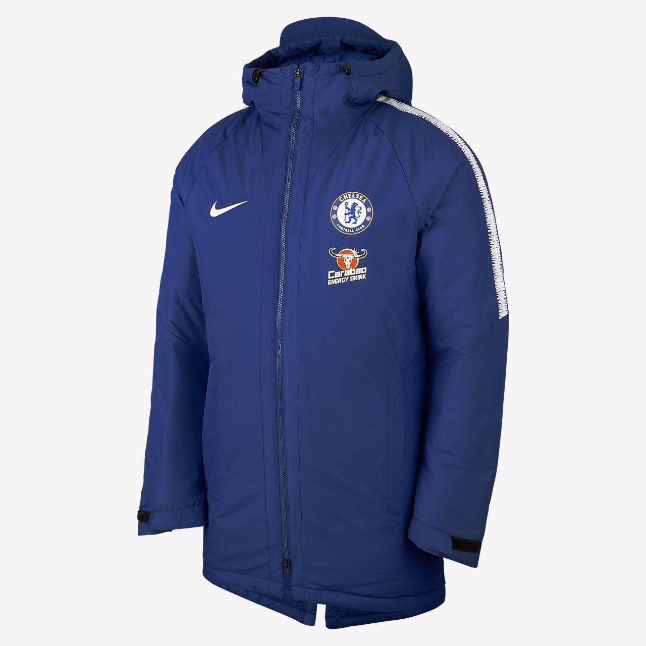 Pánská bunda Chelsea FC Squad. Nike.com CZ 6dfef5b8dfc