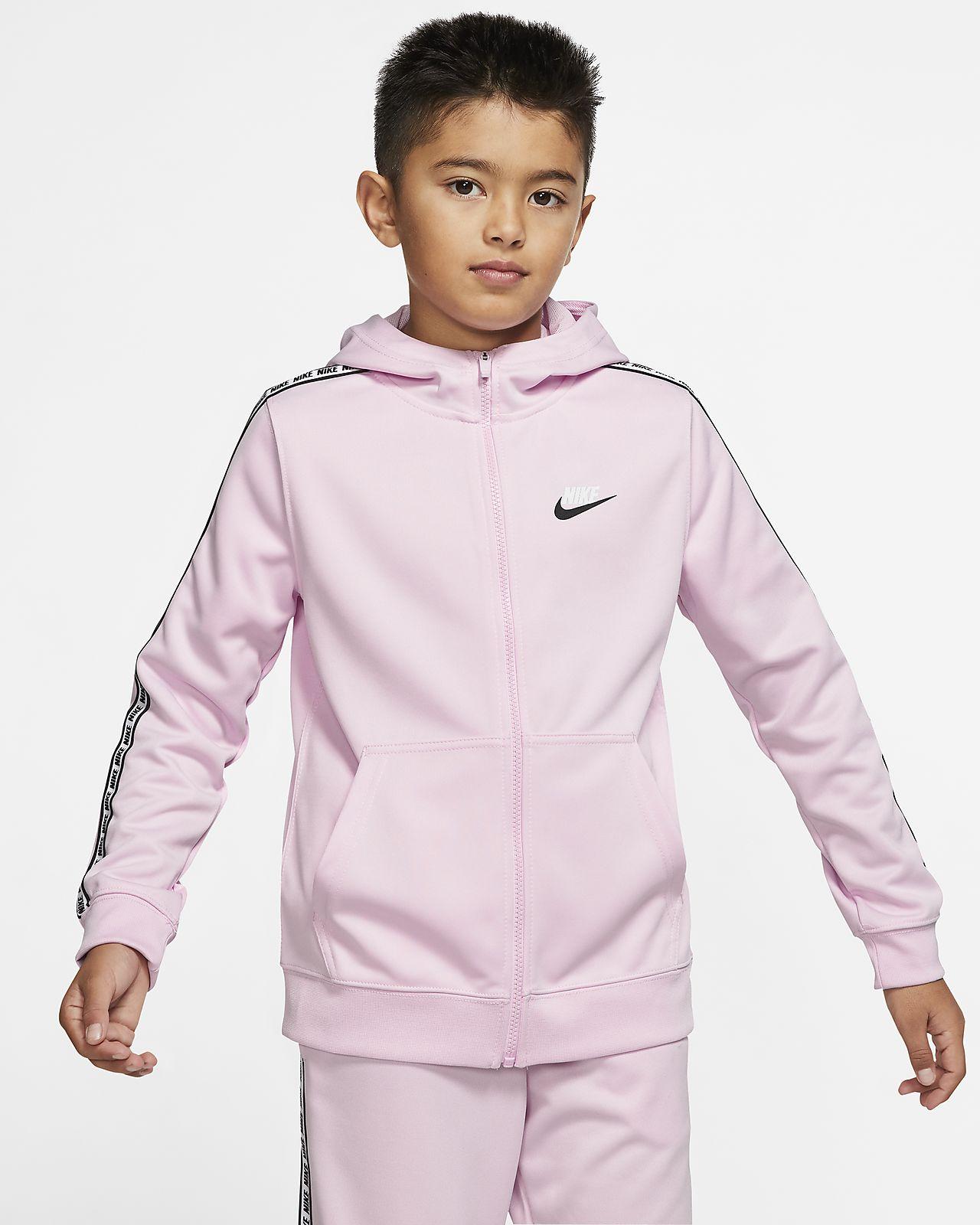 Nike Sportswear hettejakke til store barn