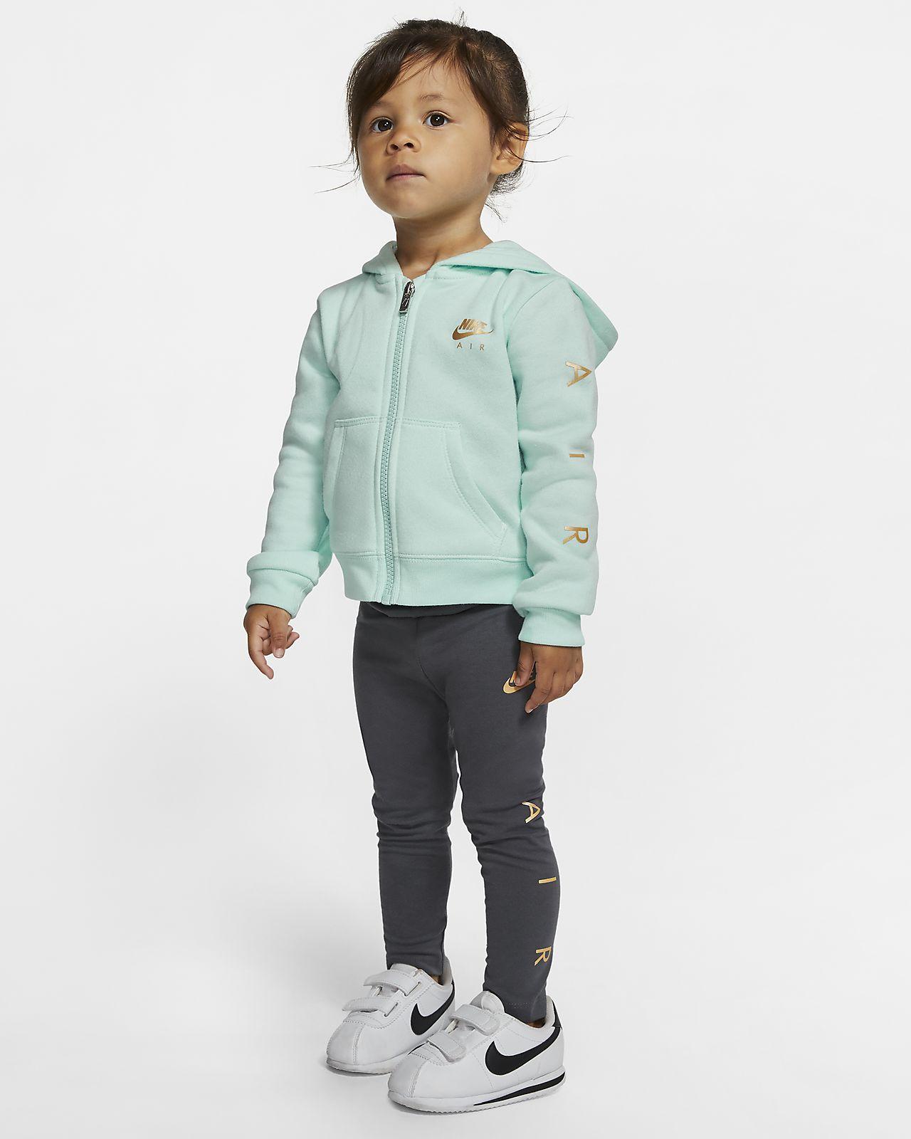 Ensemble deux pièces sweat à capuche et collants Nike Air pour Bébé