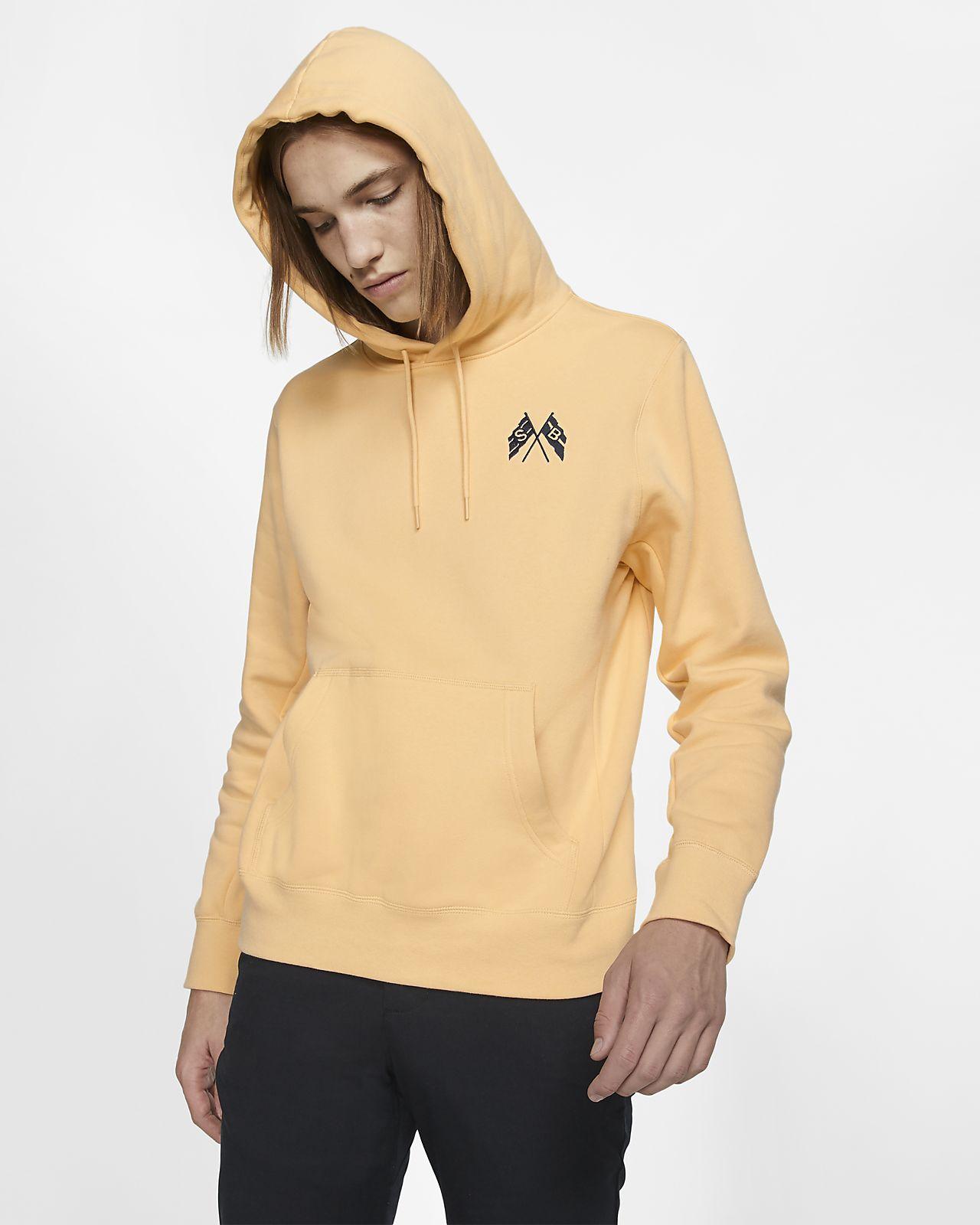 Nike SB Uzun Kollu Kapüşonlu Erkek Kaykay Sweatshirt'ü