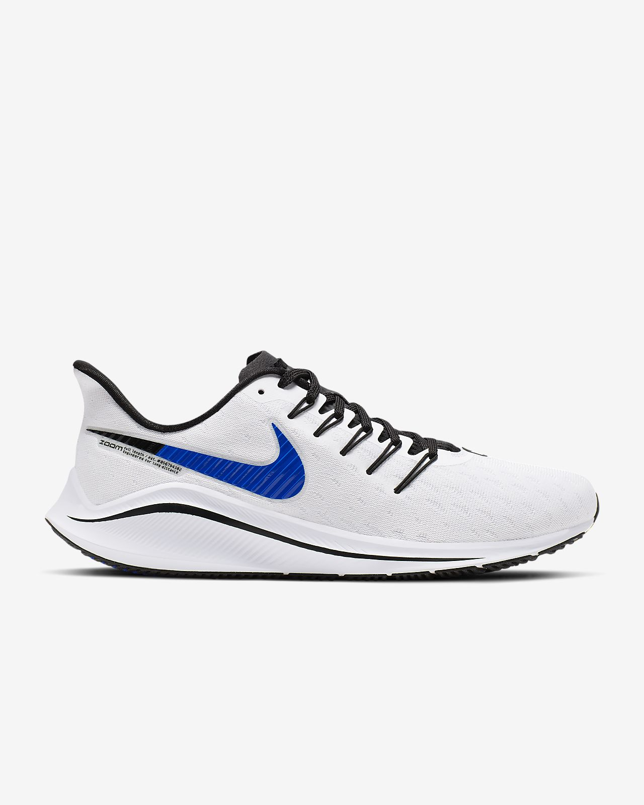 Nike Men's Air Zoom Vomero 14 Running Shoe Wide 4E