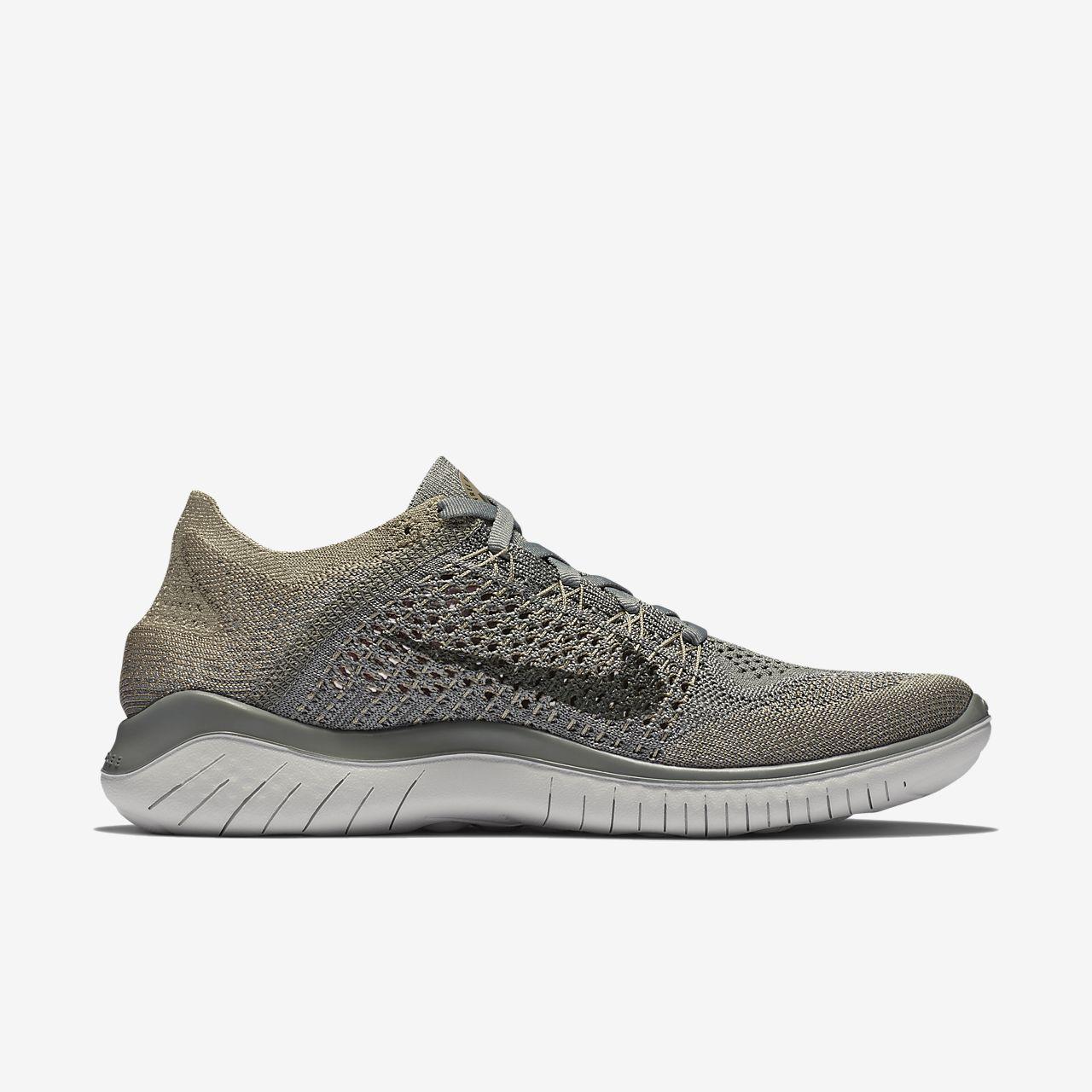 NIKE Womens Nike Free Rn Running Flyknit 2018 942839-003 DARK STUCCO Size 6.5