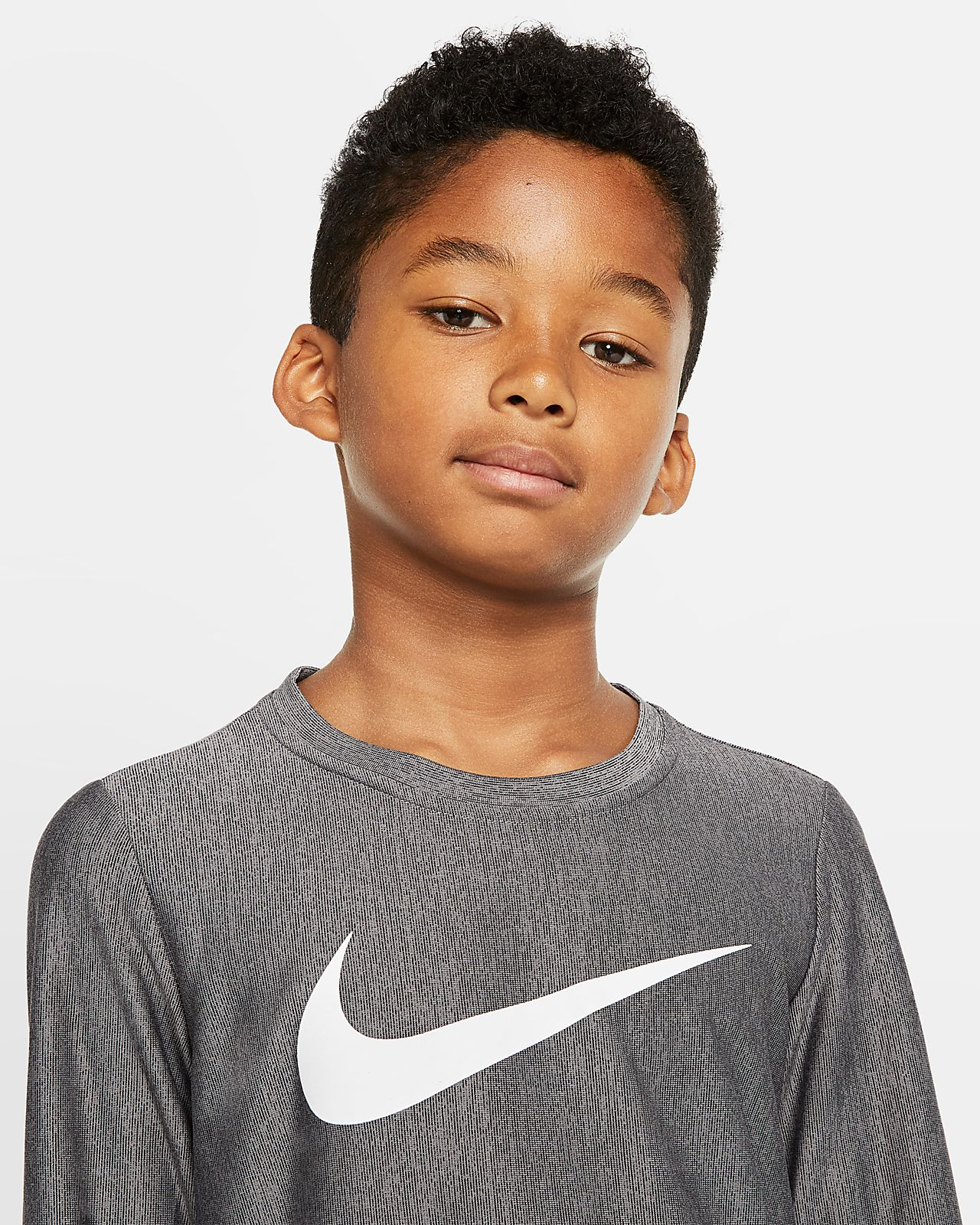 Maglia da training a manica lunga Nike Dri FIT BambinoRagazzo