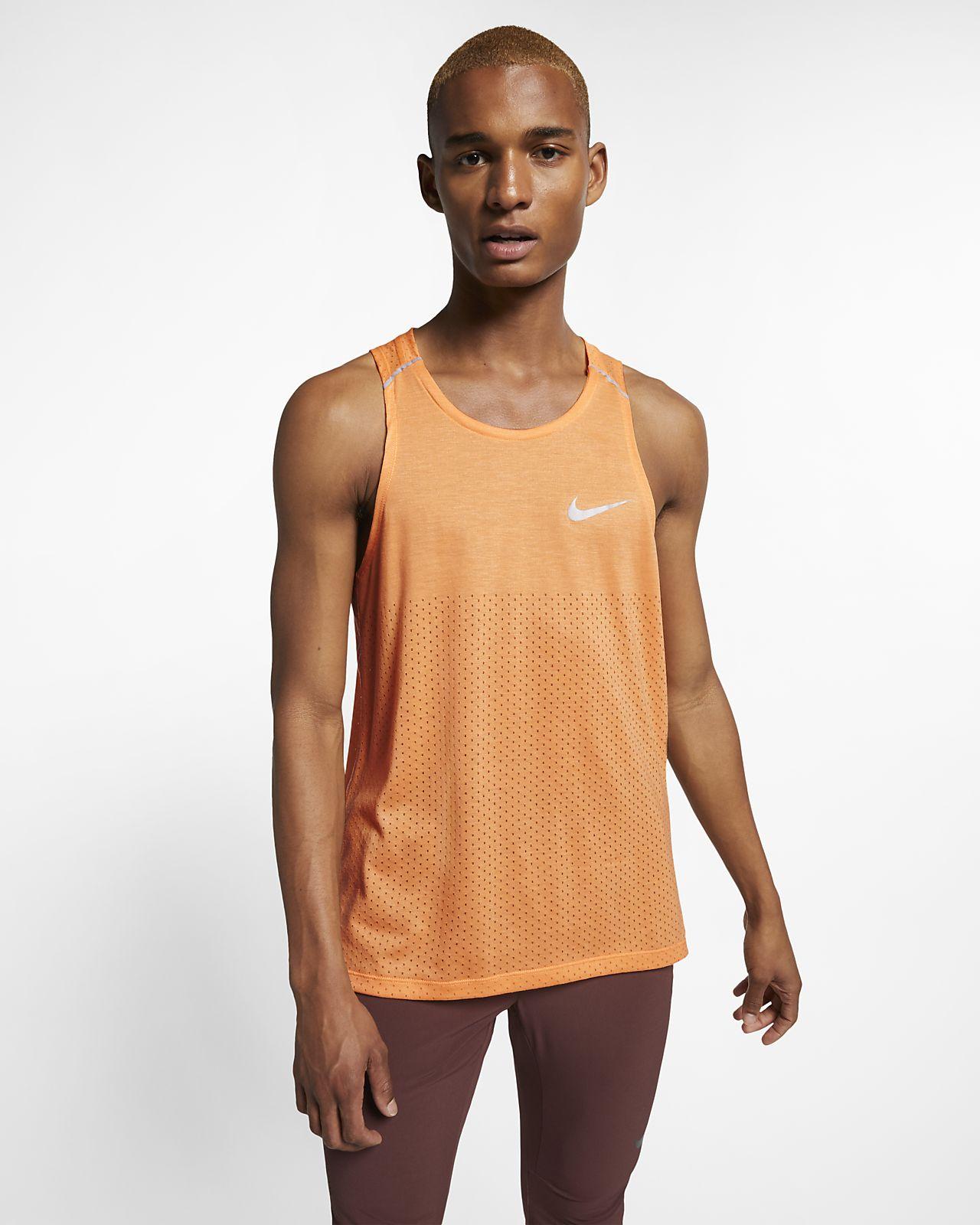 Nike Rise 365–løbetanktop til mænd