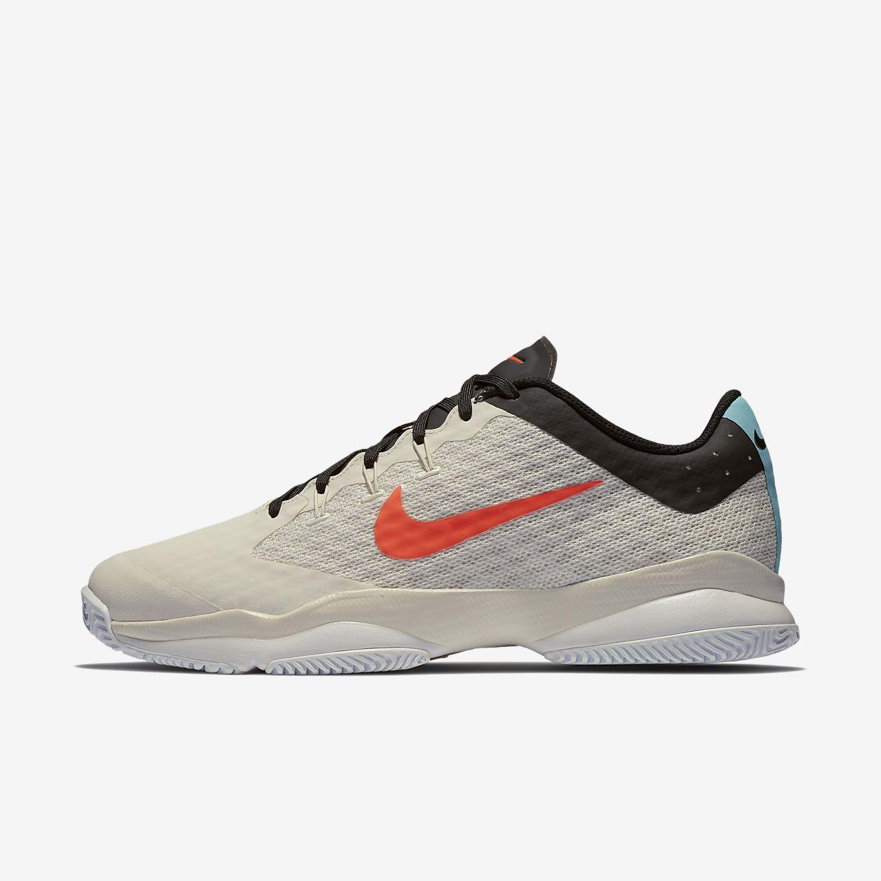 Nike - Air Zoom Ultra React Hommes Chaussure de tennis (blanc/noir) - EU 42,5 - US 9