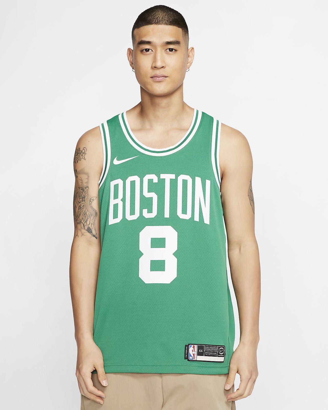 Kemba Walker Celtics Icon Edition Men's Nike NBA Swingman Jersey